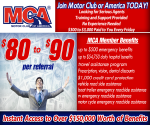Make money today online with mca home Motor club of america careers